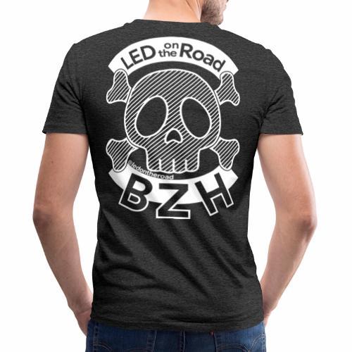 LED on the Road BZH - T-shirt bio col V Stanley & Stella Homme