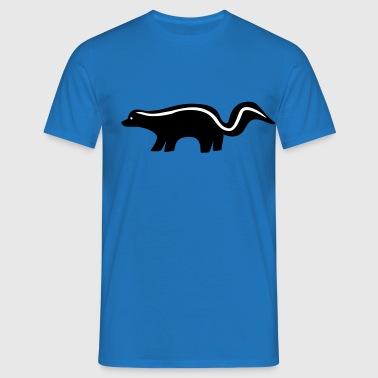 Stinktier - Männer T-Shirt