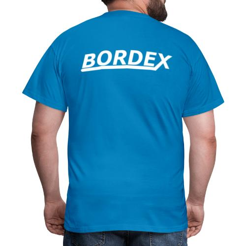 Bordex logo achterkant - Mannen T-shirt