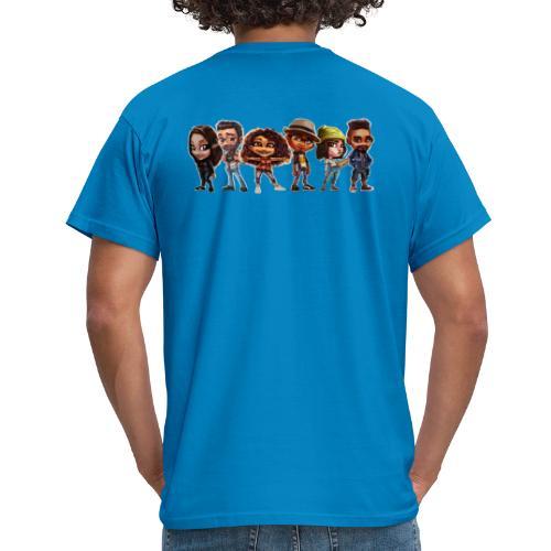 banniere Team A base de Pop pop pop pop - T-shirt Homme