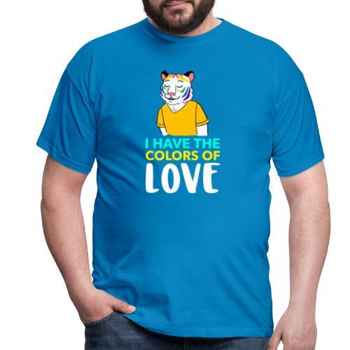 Tigre Arcoíris   Orgullo Pride LGTBI - Camiseta hombre