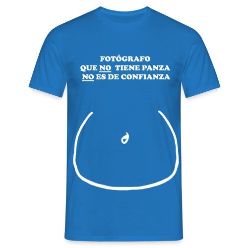 FOTÓGRAFO QUE NO TIENE PANZA NO ES DE CONFIANZA - Camiseta hombre
