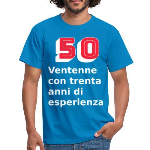 50 anni compleanno - Maglietta da uomo