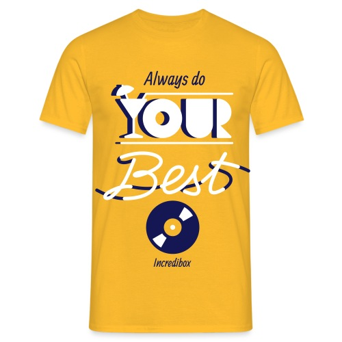 DO YOUR BEST - T-shirt Homme