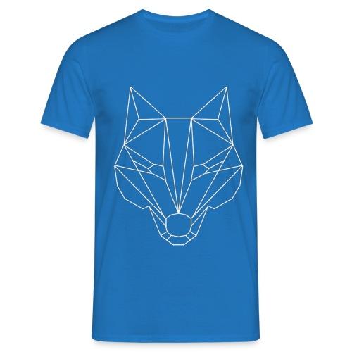 Wolf Whitelined - Männer T-Shirt