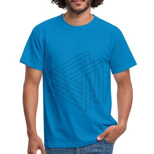 T-Shirt Eaven Geometric - Triangle Clair Homme - T-shirt Homme