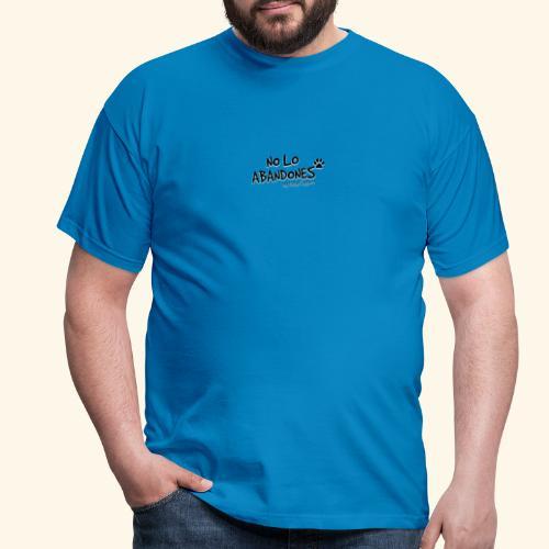 noloabandones negro - Camiseta hombre