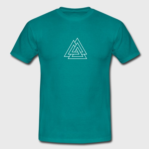 Trois triangles entrelacés - Illusion triangles - T-shirt Homme