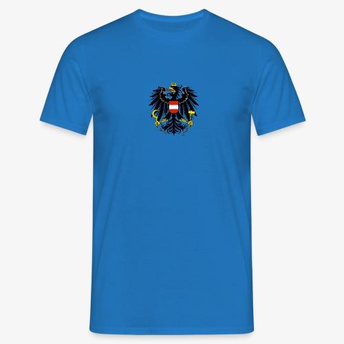 Österreich Wappen - Männer T-Shirt