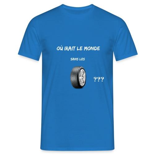 Où irait le monde sans les roux??? - T-shirt Homme