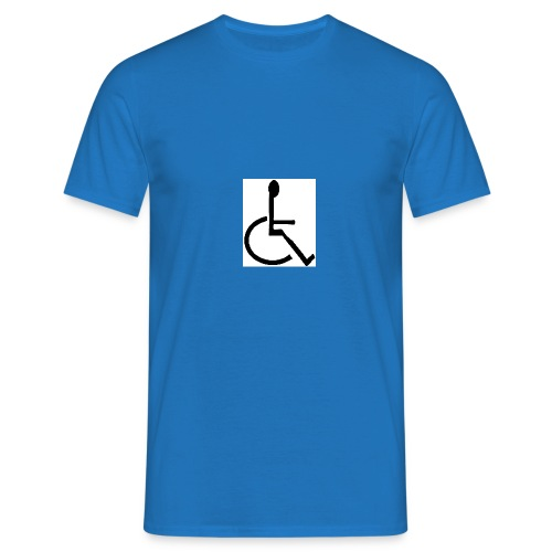 Wheelchair Logo - Men's T-Shirt