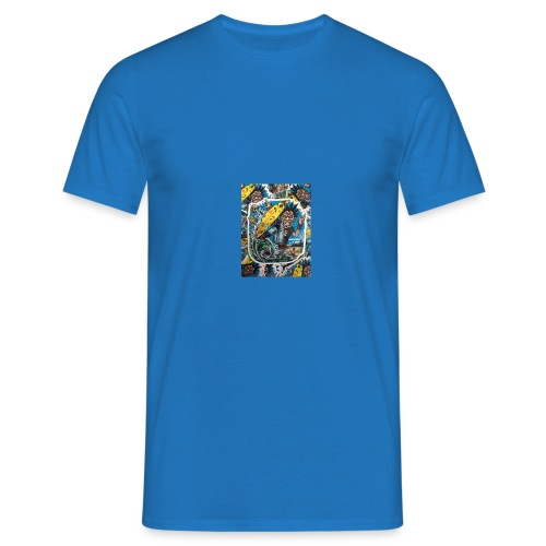 surf punk angry surf guy - Männer T-Shirt