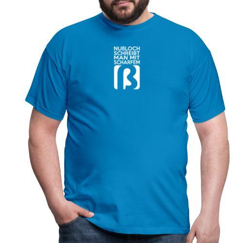 Ohne Punkt und Komma - Männer T-Shirt