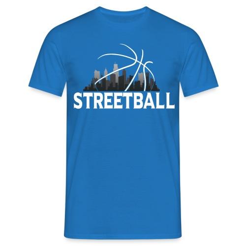 Streetball Skyline - Street basketball - Men's T-Shirt