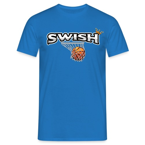 The king of swish - For basketball players - Men's T-Shirt