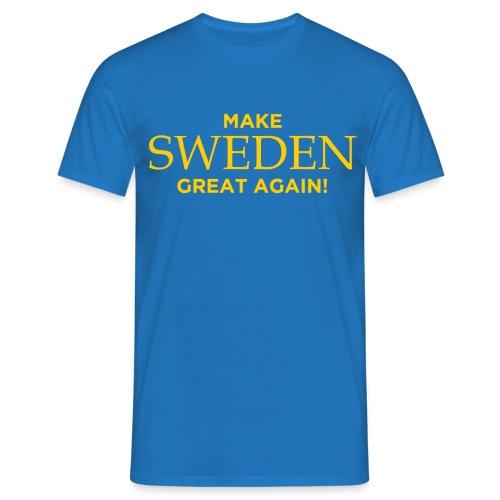 Make Sweden Great Again! - T-shirt herr
