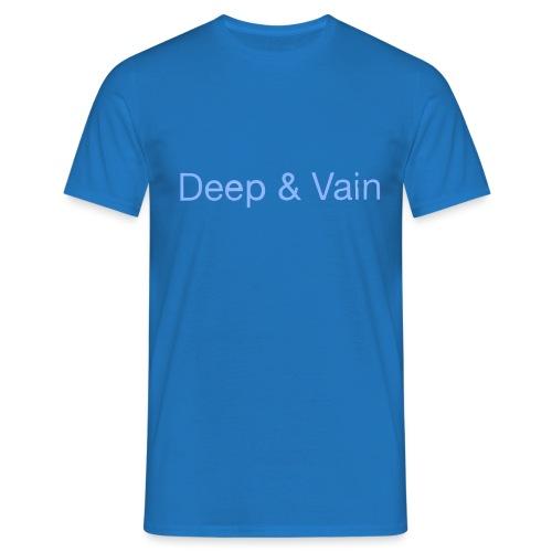 Deep&Vain Text Logo - Mannen T-shirt