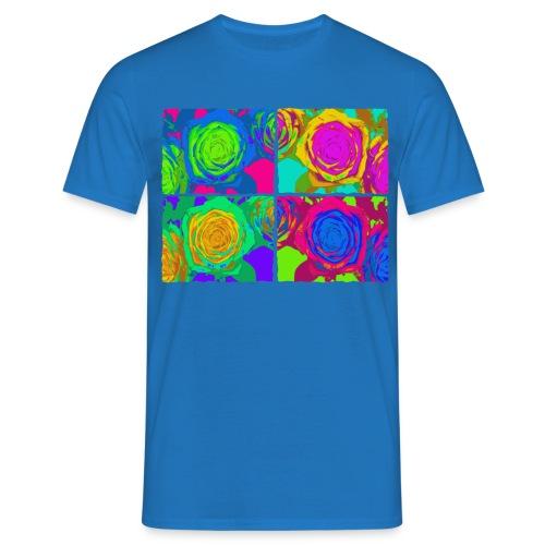 Four roses - Mannen T-shirt