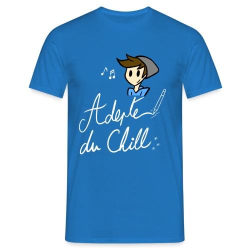 Adepte du Chill - T-shirt Homme