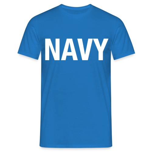 NAVY - Men's T-Shirt