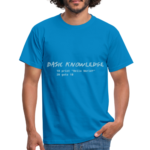 Basic Knowledge - T-shirt herr