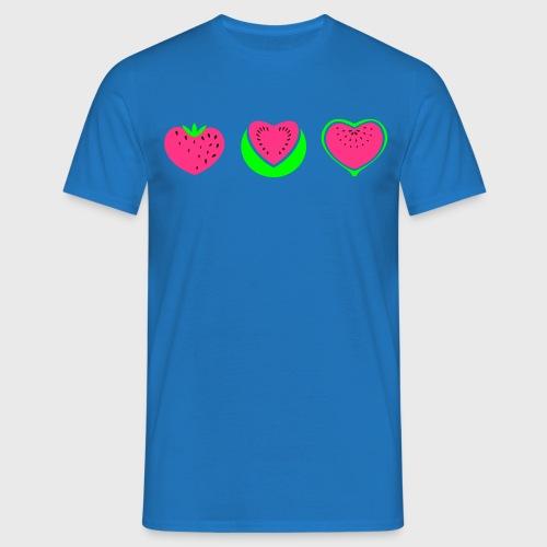 Fraise pastèque Figue - T-shirt Homme