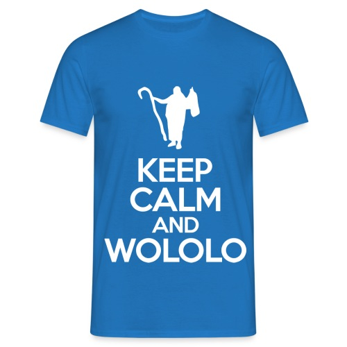 Keep calm and wololo - Camiseta hombre