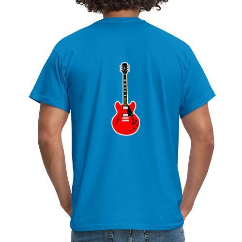Guitare dos / Vully Blues classique poitrine - Männer T-Shirt
