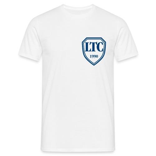 wappen ltc blau auf weiss - Männer T-Shirt