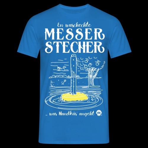 Messerstecher - Männer T-Shirt