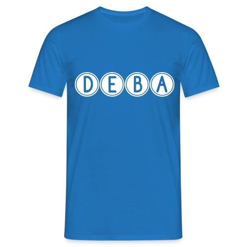 DEBA LOGO - Mannen T-shirt