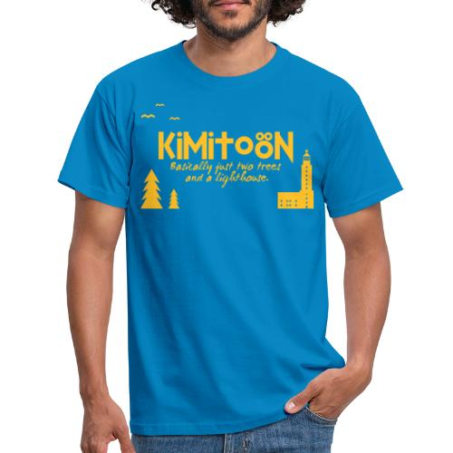 Kimitoön: two trees and a lighthouse - Miesten t-paita