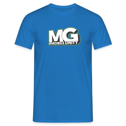 MariusGamer Männer T-Shirt Weiß - Männer T-Shirt