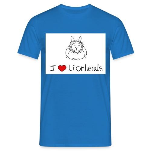 I Love Lionheads - Men's T-Shirt