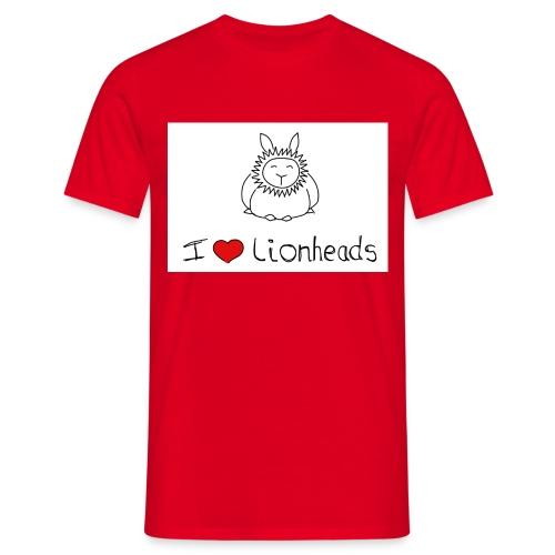 I Love Lionheads - Men's T-Shirt