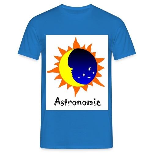 Astronomie Logo - Männer T-Shirt