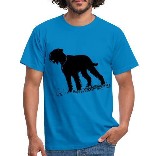 Riesenschnauzer / Schnauzer Hunde Design Geschenk - Männer T-Shirt