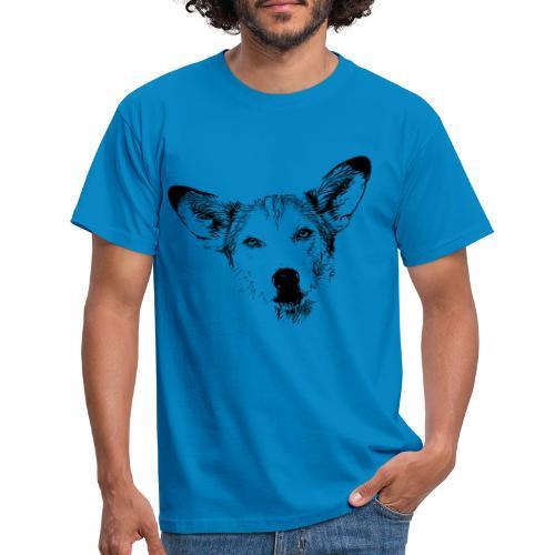 Podenco-Mischling / Hunde Design Geschenkidee - Männer T-Shirt