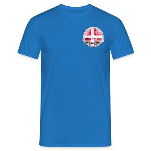 adepto logo redigeret2 png - Herre-T-shirt