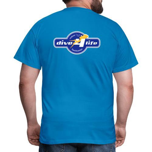 dive4life Team 4 - Männer T-Shirt