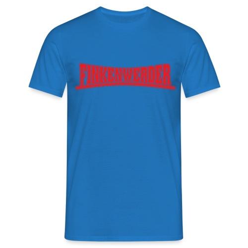 Finkenwerder rot - Männer T-Shirt