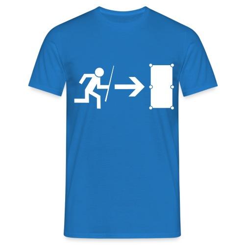 Emergency Exit Billard - Männer T-Shirt