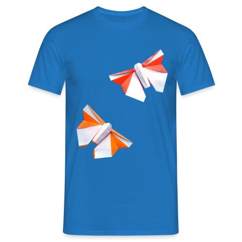 Butterflies Origami - Butterflies - Mariposas - Men's T-Shirt