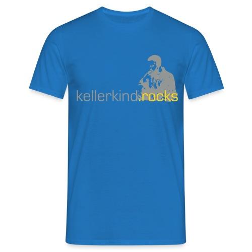 kellerkindrocks-logo-blac - Männer T-Shirt