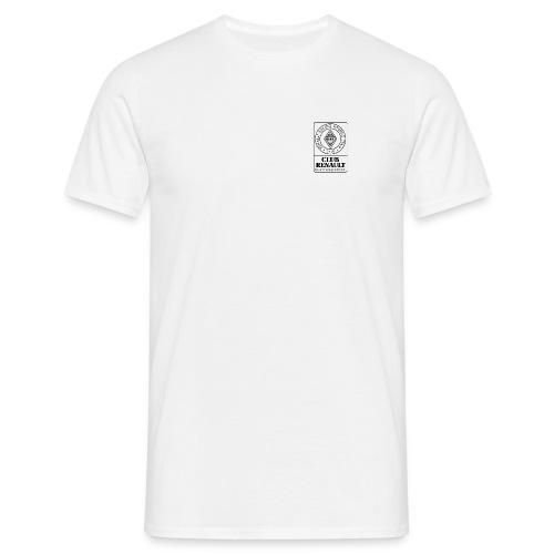 RRTT Logo schwarz weiss - Männer T-Shirt