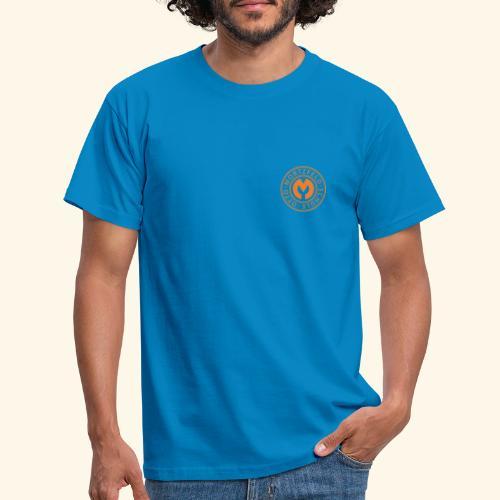 Otto-Mortzfeld-Schule Logo orange - Männer T-Shirt