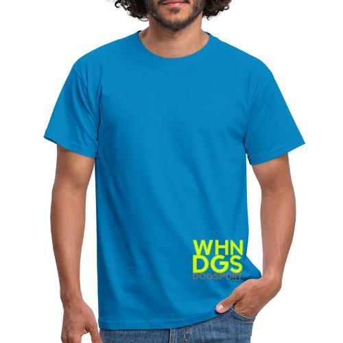 WHNDGS Hundesport Agility Geschenkidee Markenshirt - Männer T-Shirt