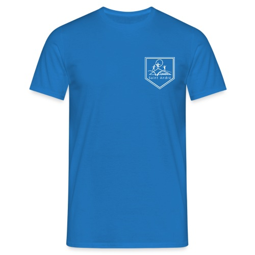Blason blanc - T-shirt Homme