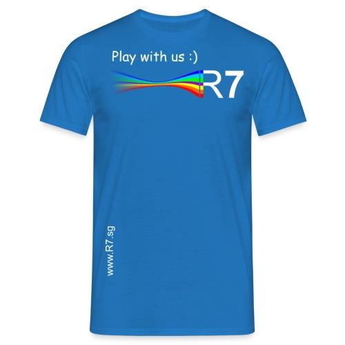 R7 TShirt2W png - Männer T-Shirt