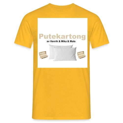 Putekartong Vintage - T-skjorte for menn